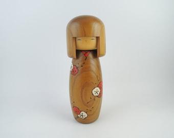 Vintage Japanese Kokeshi Doll, By Usaburo, ref2
