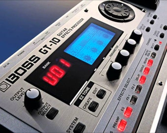 Boss GT-10 Gigantic Effects Patch Collection