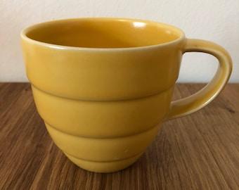 Höganäs Keramik Sweden Java Coffee Mug Yellow A-C Wiktorsson