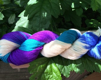 Hand Dyed, Speckled Yarn, SW Merino/Cashmere/Nylon, Hand Dyed Sock Yarn, Hand Dyed, Merino, Cashmere