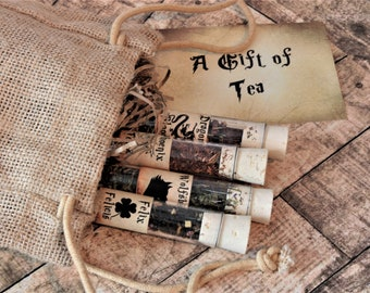 Tea Potions - Harry Potter Inspired Tea - Magic Gift - Fantasy Gift - Felix Felicis - Wolfsbane - Phoenix Tears - Dragons Blood