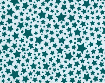 Michael Miller Pierre's Famous Traveling Circus Starlettes in Turquoise by the Yard