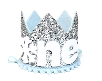 Winter Onederland | Snowflake Winter First Birthday | Onederland Party | Winter Onederland Birthday Crown | 1st Birthday Crown