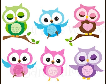 owls super sweet digital clip art pack in high resolution png - Owl Pictures For Kids