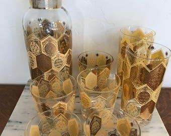 Ned Harris pineapple bar set