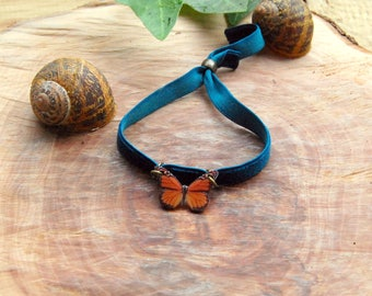 Nature Jewelry, Butterfly Jewelry, Butterfly, Butterfly Jewelry, Gifts for her, Shrink Jewelry, Insect Jewelry, Bug, Colourfull Butterflies