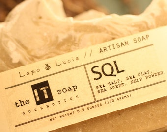 SQL | the IT soap | Artisan Soap | Handmade Soap
