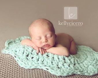 Baby Blanket, Newborn Blanket, Basket Stuffer, Newborn Prop, Newborn Wrap, Swaddle Blanket, Newborn Swaddle, Crochet Baby Blanket, Knit Baby