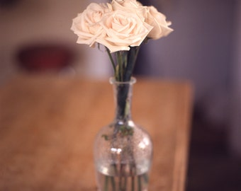 White Roses and Vase (Durham, NC) - Standard Edition