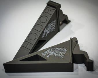 Hodor Door Stop | Game of Thrones | Hodor door stop with House Stark Sign | Doorstop | Hodor | hold the door | door stopper