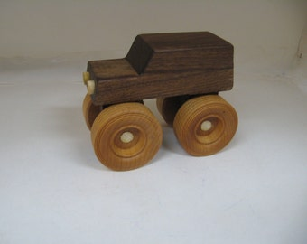 Wood Toy Monster Truck