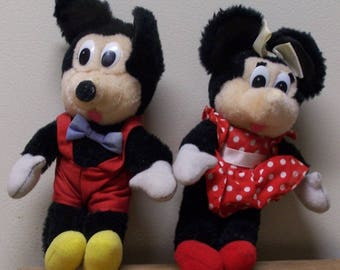 Mickey and Mini Plush