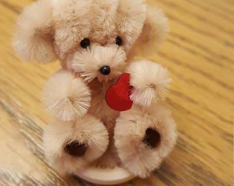 Love me Bear my handmade Chenille bears