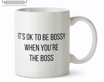 Lady Boss Mug- Mug for Boss - Girl Boss Mug
