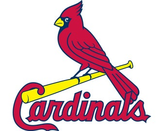 St Louis Cardinals Cut Files, SVG Files, Baseball CLipart, Cricut St Louis Cardinals Cutting Files, Baseball DXF, Clipart, Instant Download