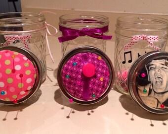 Pincushions/Button/Sewing Kit Holder