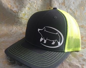 Ready to Ship - Discounted Berkshire Show Pig Hat