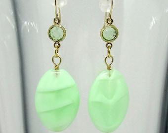 Moonshine mint Earrings