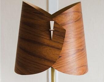 Wood Lamp Shade   Wood Floor Lamp Shade Wood Table Lamp Shade Modern Table  Light In