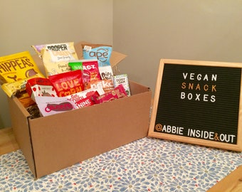 Vegan Chocolate and Snack Hamper Lovely Vegan Gift Box Perfect For Presents and easter LARGE