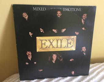 Mixed Emotions Exile Record Album Vinyl NEAR MINT CONDITION