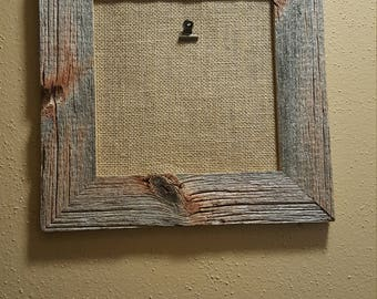 Barnwood picture frame