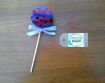 Knitted Lollypop