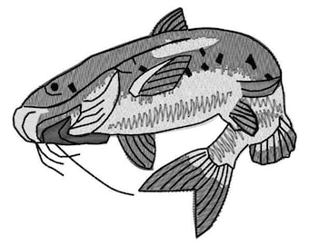 Catfish Embroidery File