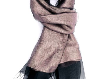 Party Scarf ⊿ Wedding Scarf ⊿ Extra long scarf ⊿ Abstract scarf ⊿ Christmas Gift ⊿ Wife Gift ⊿ Birthday Gift ⊿