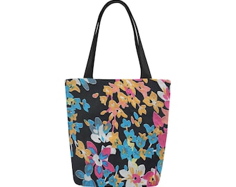 Tote bag, Shopper bag, Shoulder bag, Personalized tote, Gift for her, Cotton tote, Canvas tote bag, Print bag, Beach bag, Shopping bag,