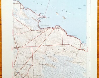 Onondaga lake map Etsy