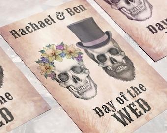 Day of the Dead Wedding Invitation - Invite Suite sample