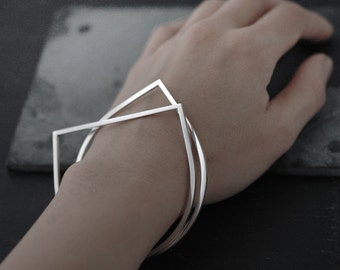Adam or Eve bangle bracelet