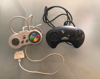 Sega Genesis Controller Super Nintendo Controller