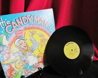 """Children's Recording """"The Candy Man Can""""  LP, #8112 by Peter Pan Records"""