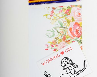 Digital Stamp, Digi Stamp, laptup stamp, Coloring Page, Girl,  Adult Coloring Page, line art by NilitArt IMG 098