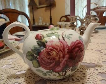 Roses Tea Pot  Godinger