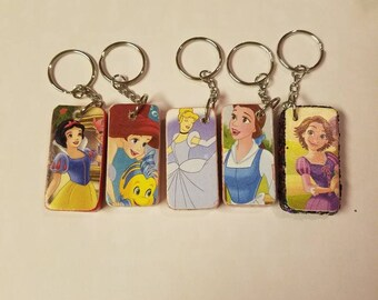 Disney Princesses Keychains