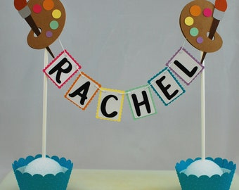 Party cake topper Etsy