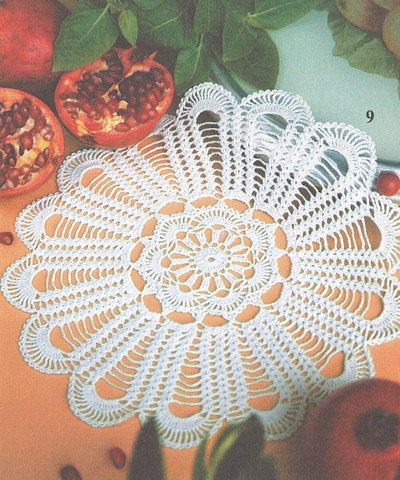 Muster von Valentina 152-9 Runde Spitze filet häkeln Baumwolle