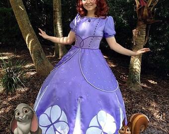 Sofia the First Adult Princess Costume