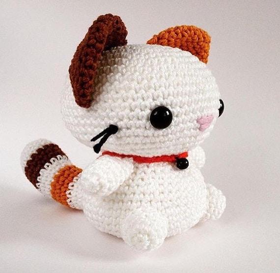 Pattern Cat Crochet Pattern Coconut The Cat Amigurumi