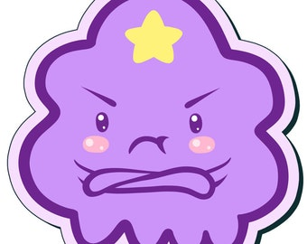 Lumpy Space Princess - Adventure Time Sticker (3 Inch)