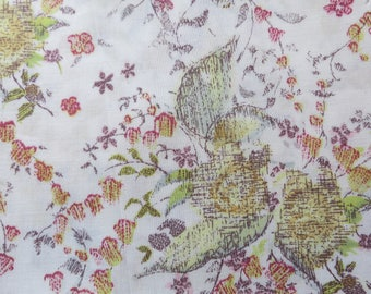 LIBERTY of LONDON Tana Lawn Cotton Fabric 'Keighley' Lg Fat Quarter 18 X 26 in