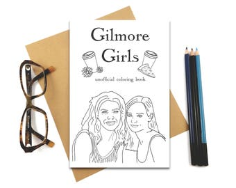 Gilmore Girls Coloring Book