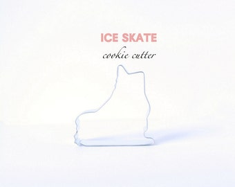 Ice Skate Cookie Cutter - Winter - Snow - Frozen - Birthday - Christmas - Holiday - Custom Cookies - Cutters