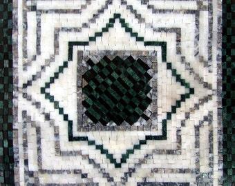 Decorative Mosaic Square - Estella