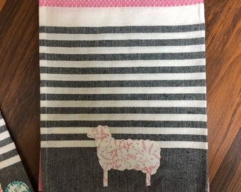 Spring Lamb Tea Towel