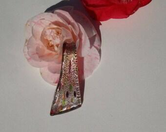 Handmade murano style glass pendant
