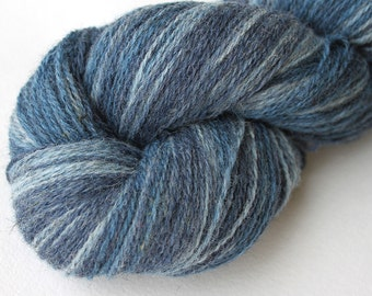 KAUNI Estonian Artistic Yarn River 8/2, Wool Art Yarn for Knitting, Crochet